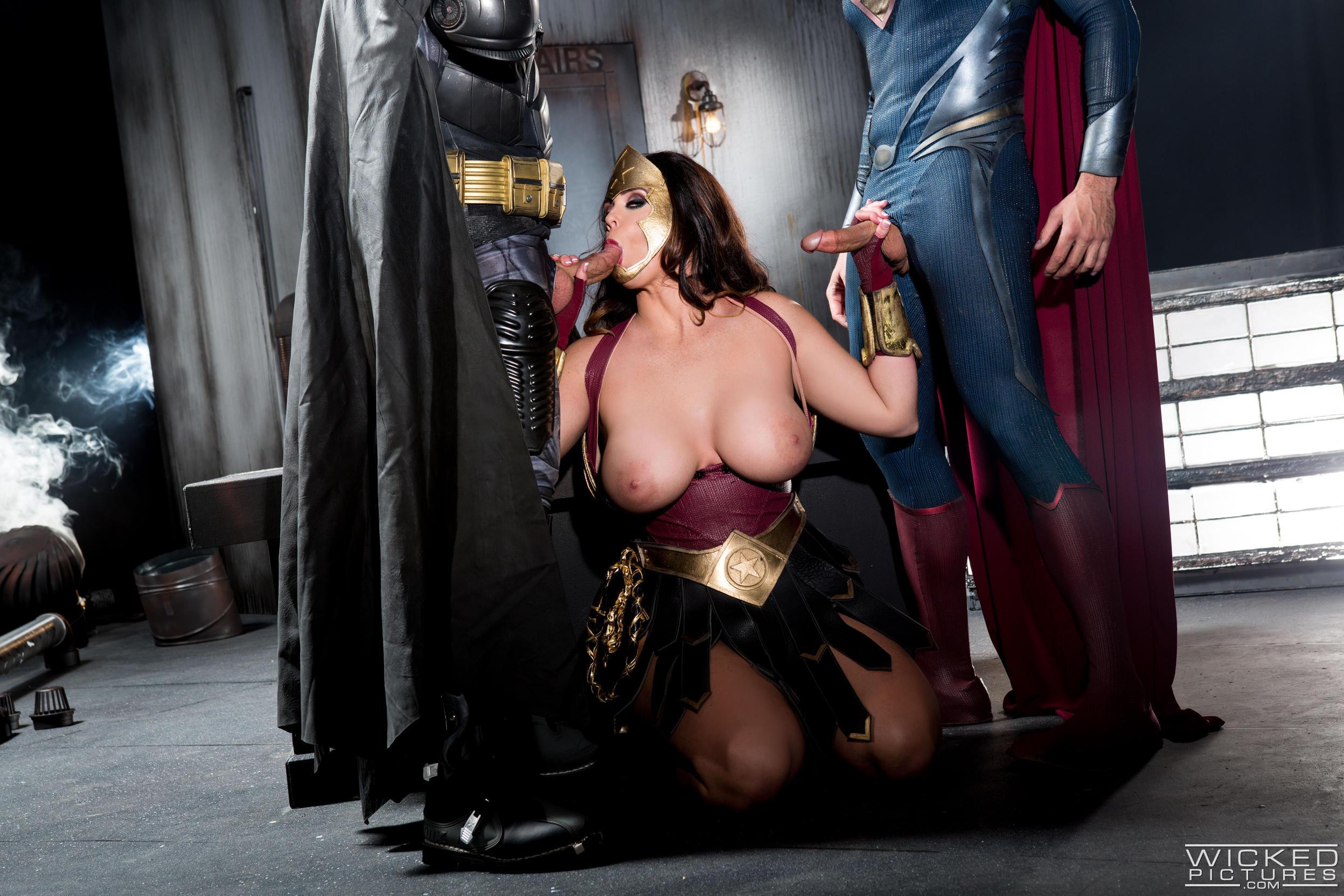 Wonder womans tit fucks
