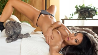 Asa Akira in 'Tell Me Something Dirty Scene 1'