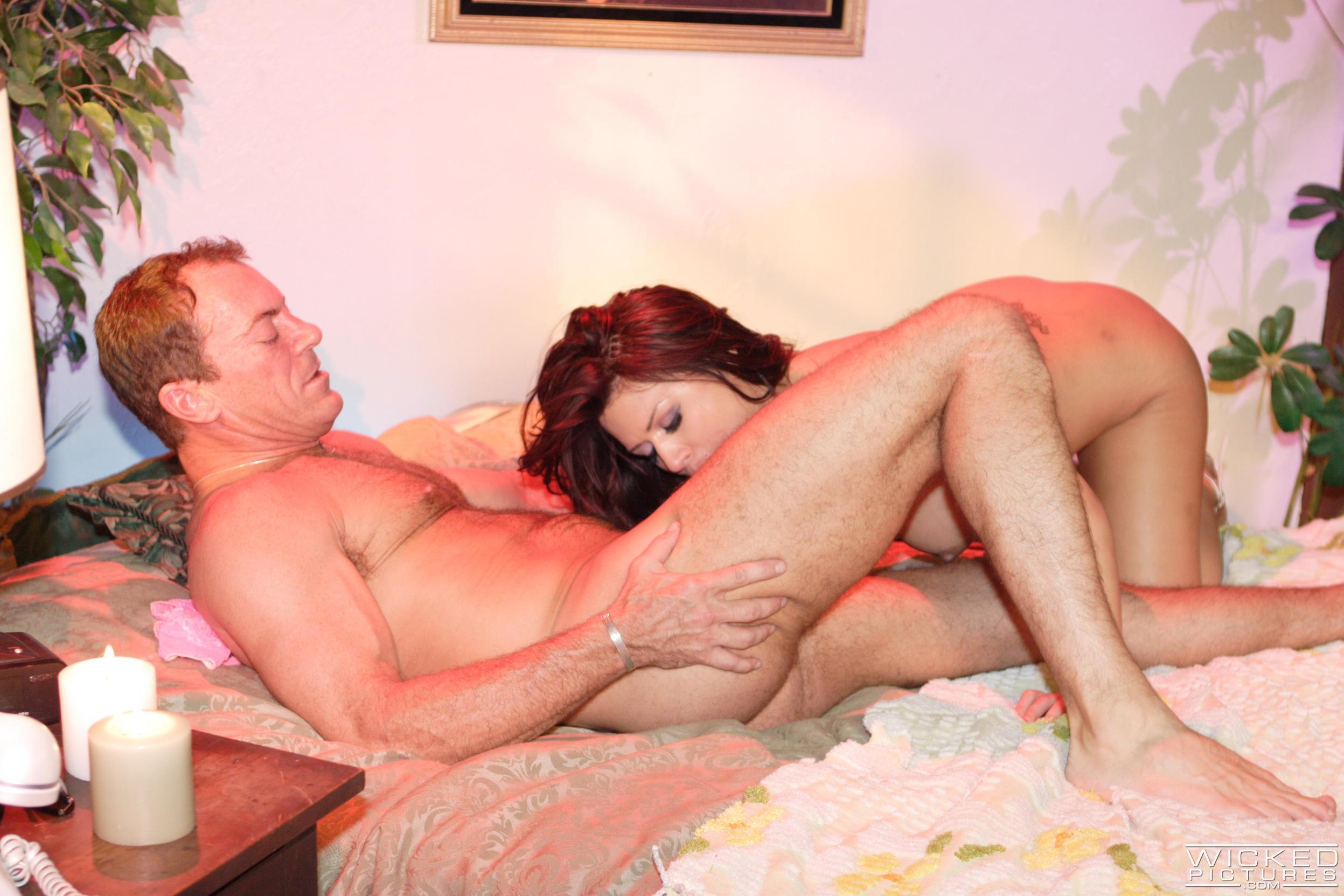 Wicked 'Love Is Blue Scene 1' starring Eva Angelina (Photo 36)