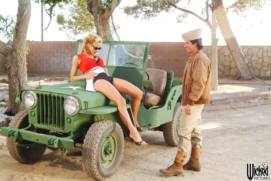 Wicked 'Pin Ups Scene 4' starring Stormy Daniels (Photo 1)