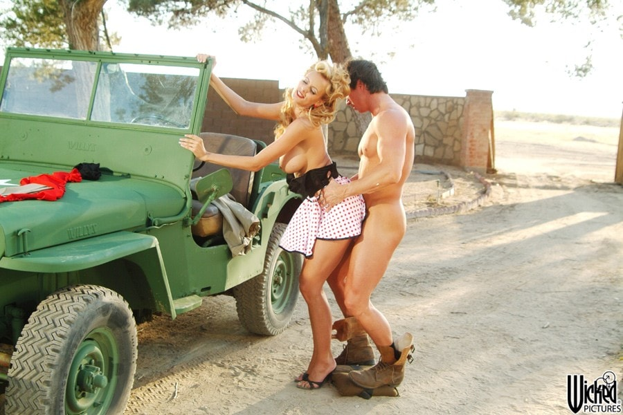 Wicked 'Pin Ups Scene 4' starring Stormy Daniels (Photo 28)