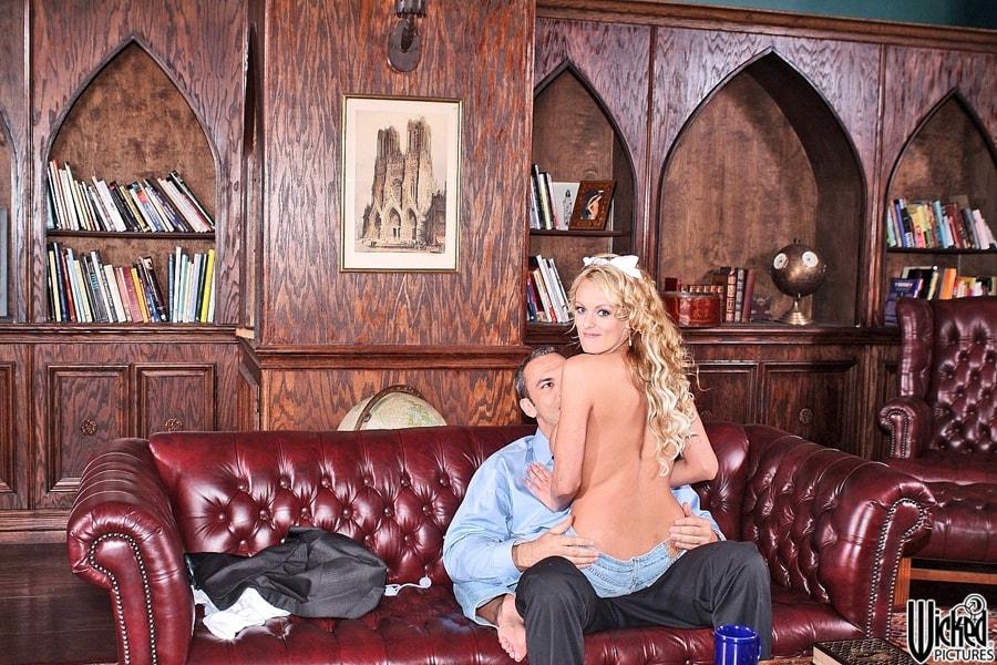 Wicked 'What's A Girl Gotta Do Scene 2' starring Stormy Daniels (Photo 12)
